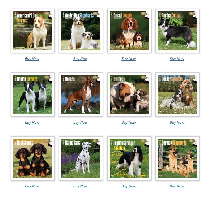 DogDays Calendar Bundles
