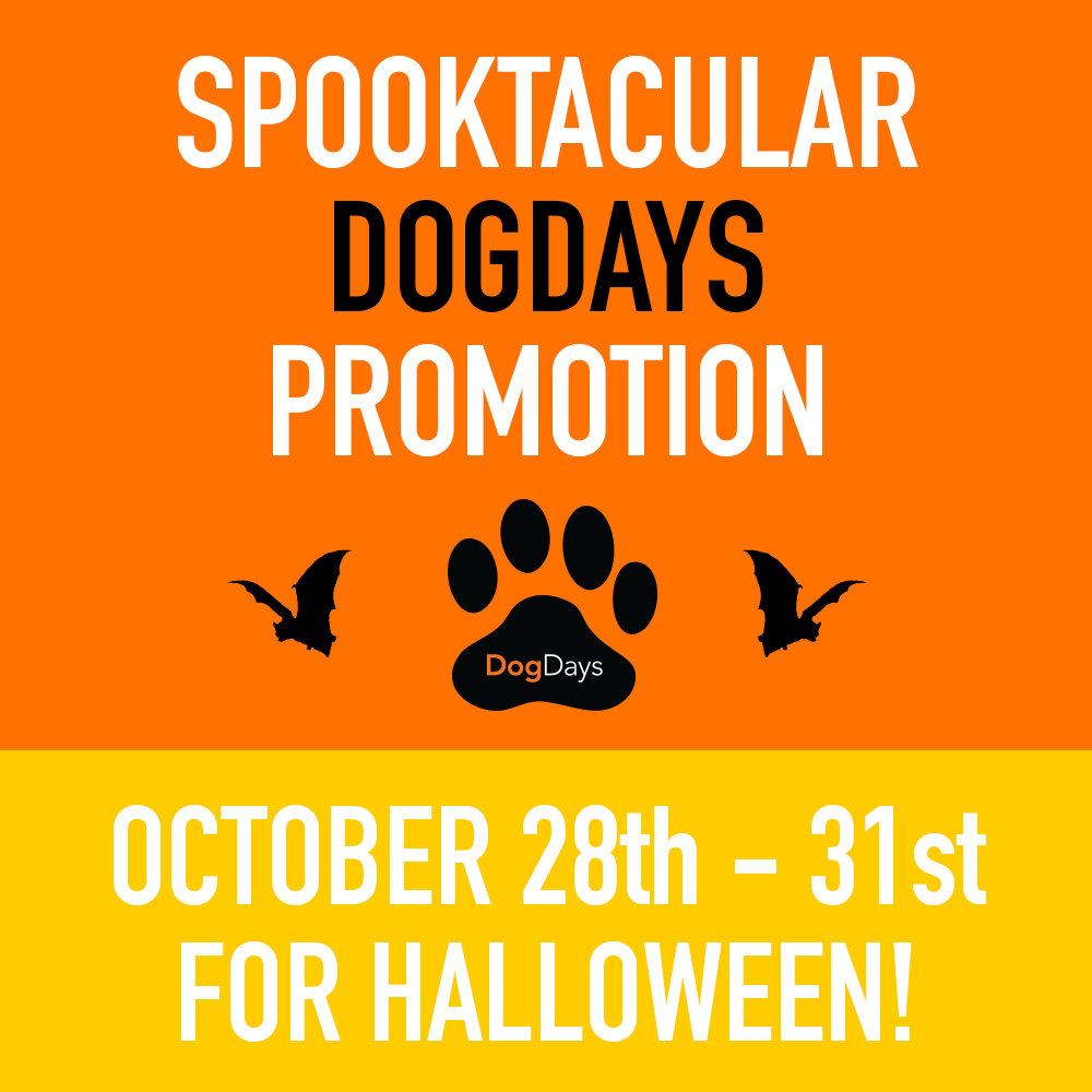 Spooktacular DogDays Promotion